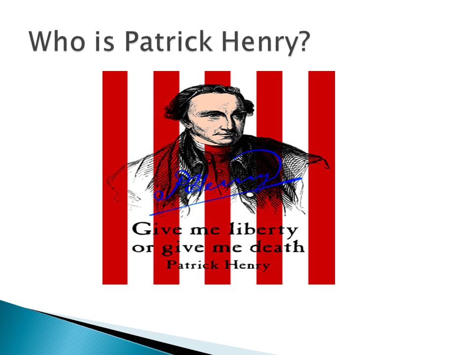 Who is Patrick Henry