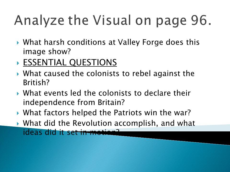 Analyze the Visual on page 96.