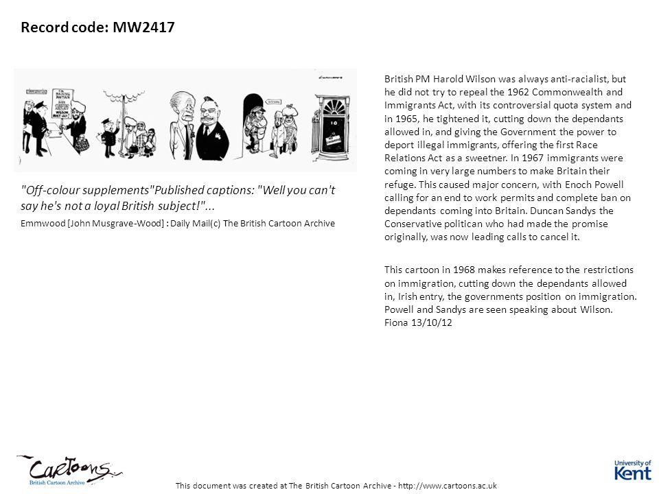 Record code: MW2417