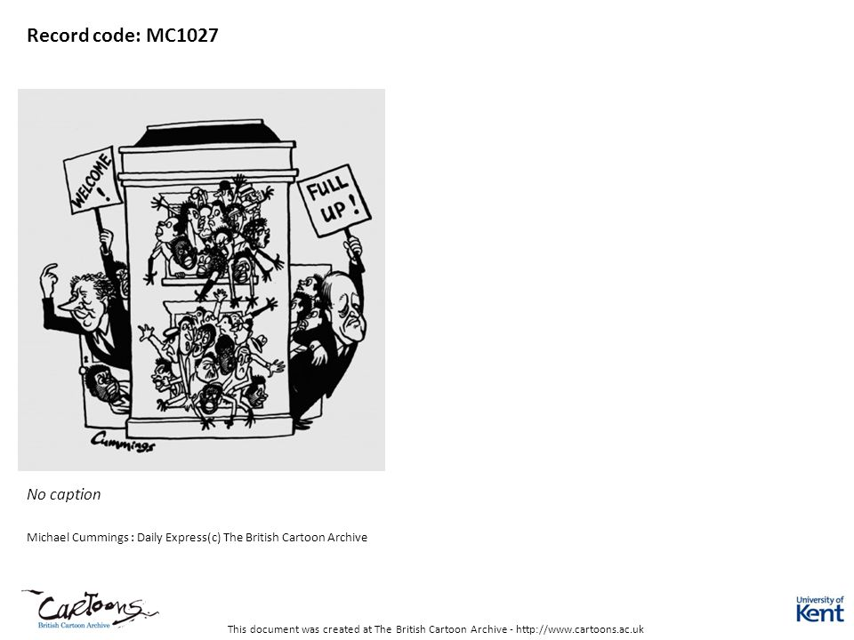Record code: MC1027 No caption