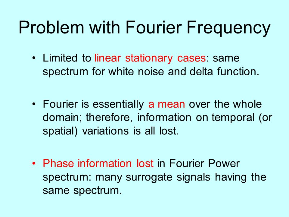 Problem with Fourier Frequency