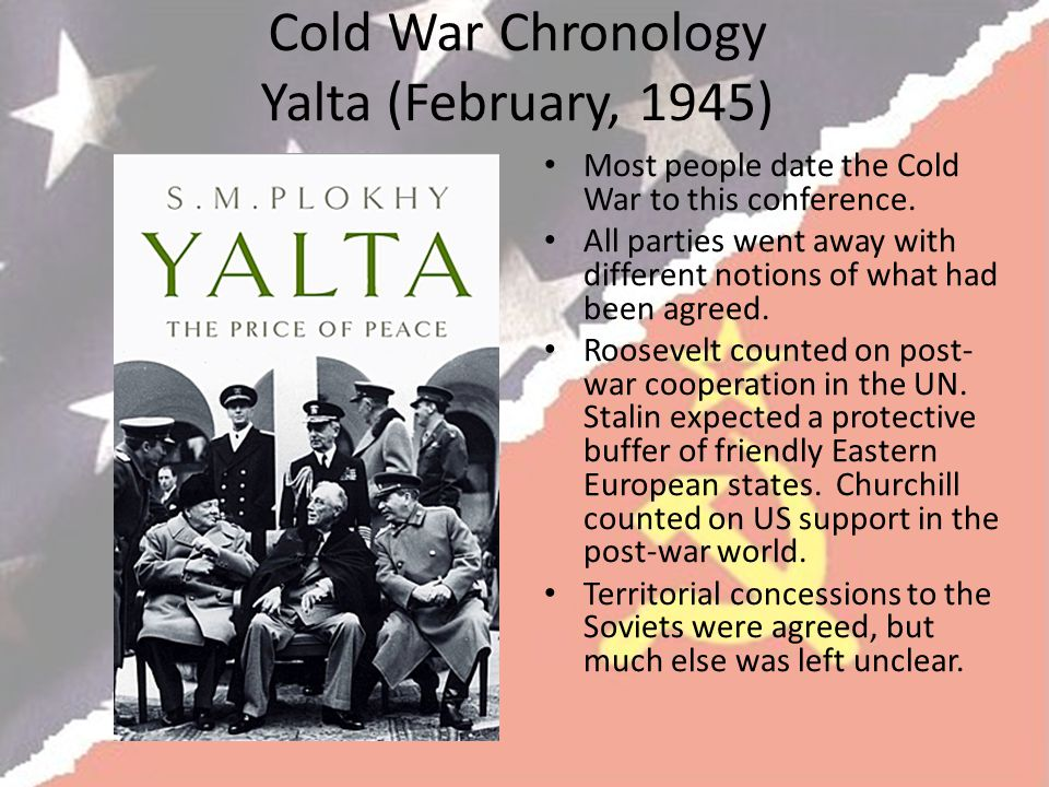 Cold War Chronology Yalta (February, 1945)