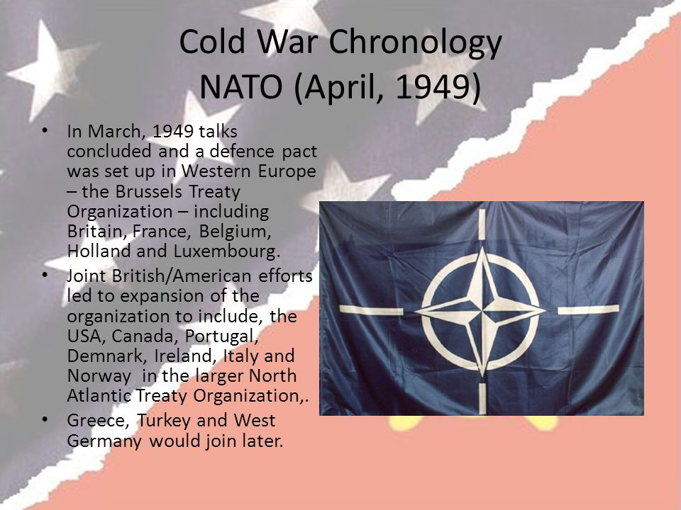 Cold War Chronology NATO (April, 1949)