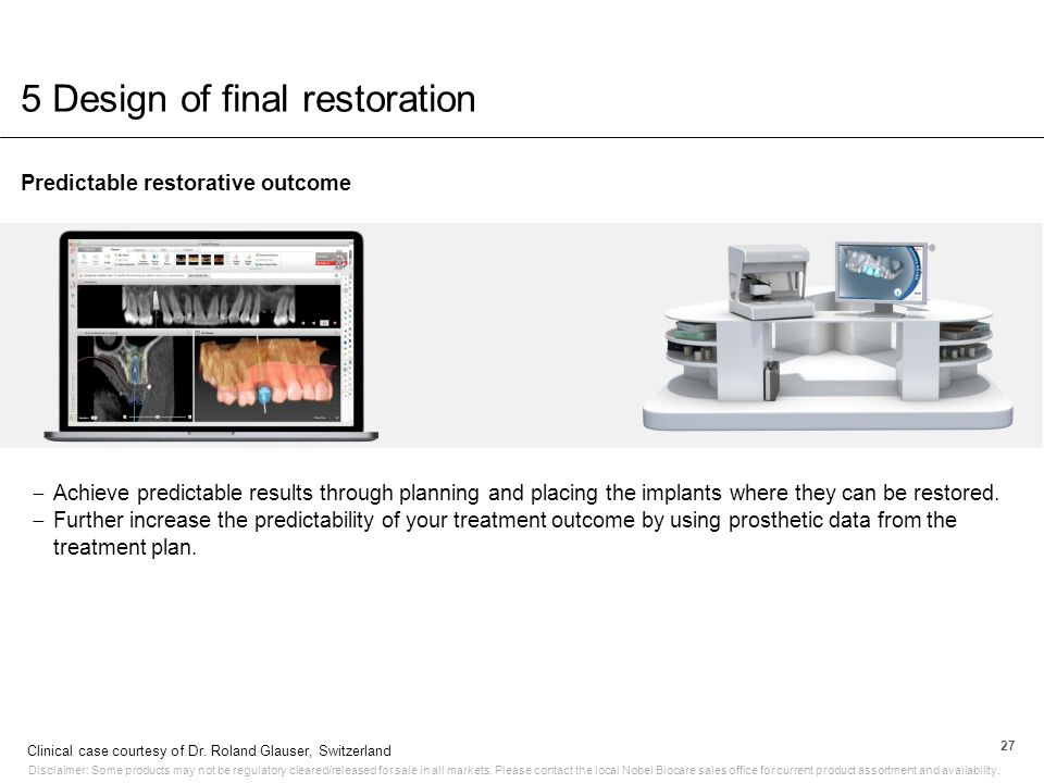 5 Design of final restoration