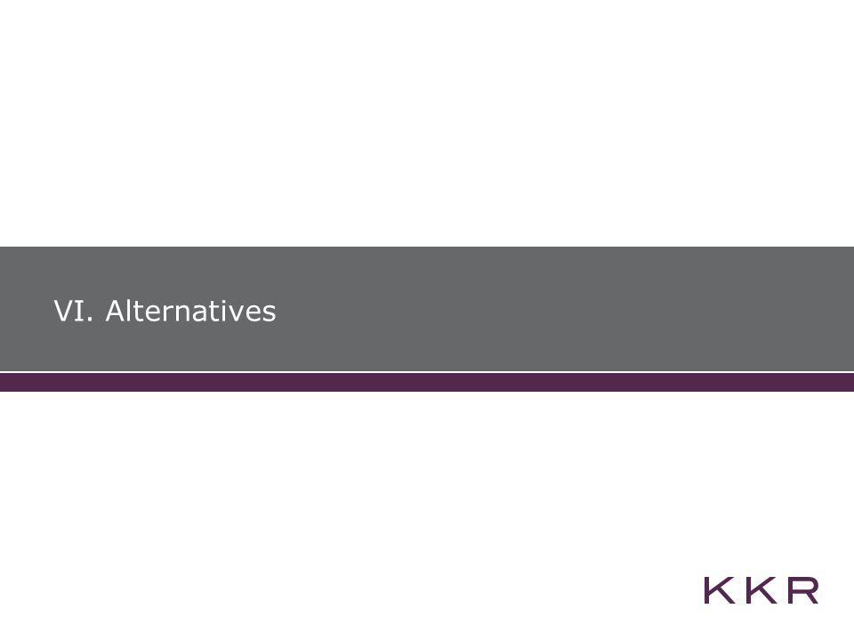 VI. Alternatives