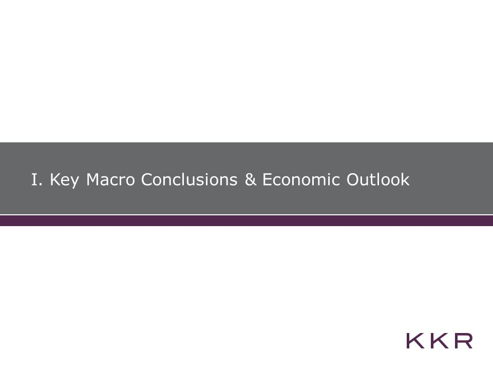 I. Key Macro Conclusions & Economic Outlook