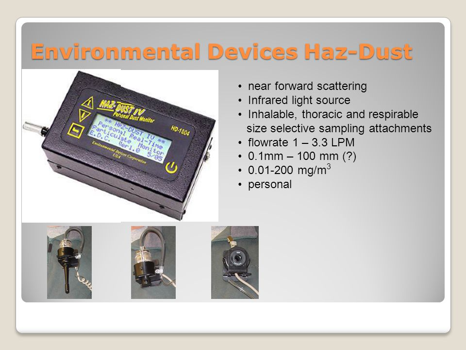 Environmental Devices Haz-Dust