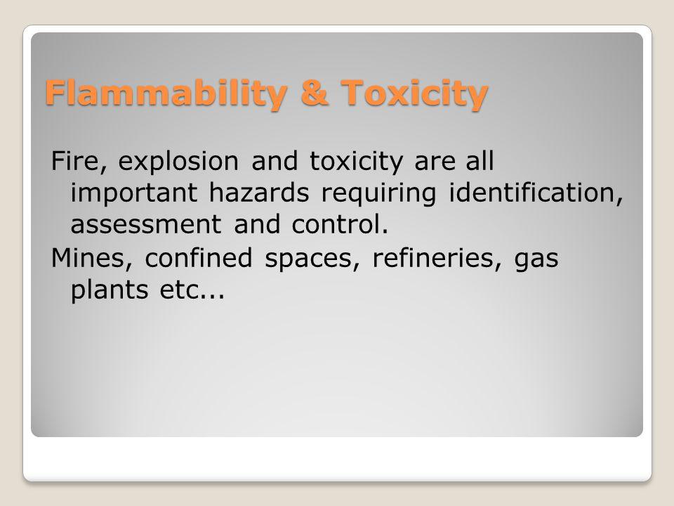 Flammability & Toxicity