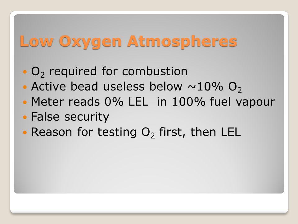 Low Oxygen Atmospheres