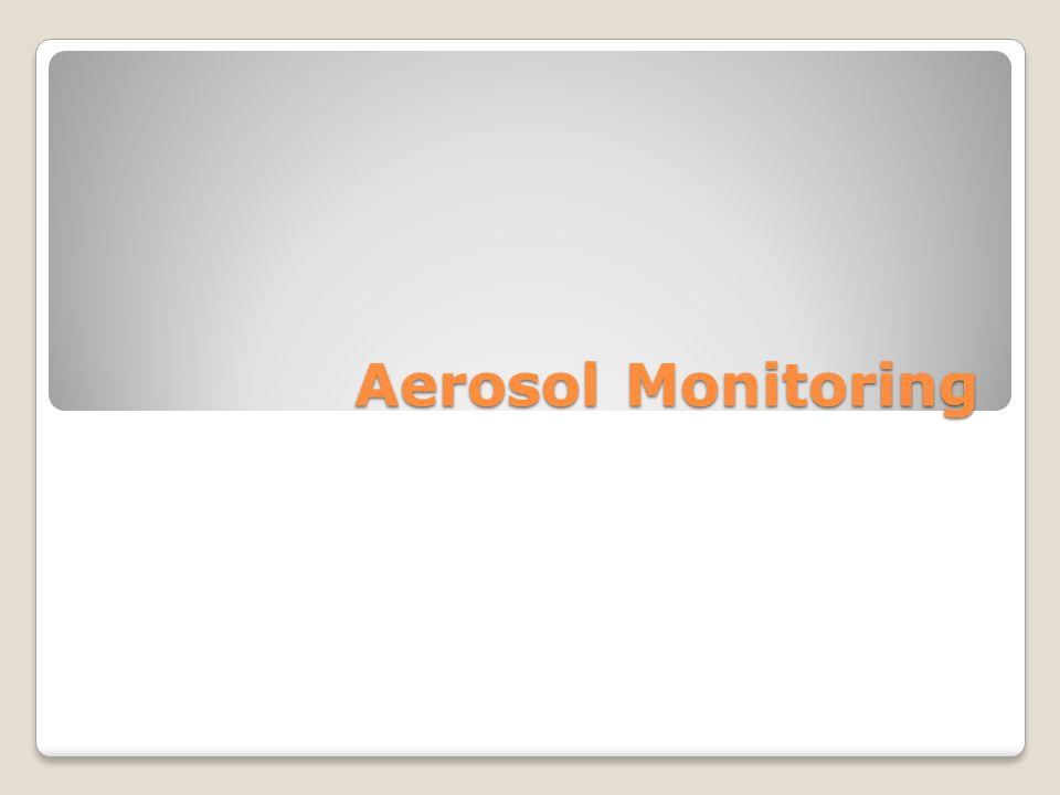 Aerosol Monitoring