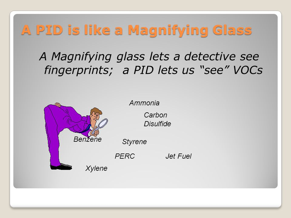 A PID is like a Magnifying Glass