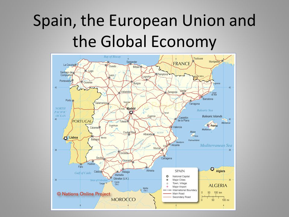 Spain, the European Union and the Global Economy