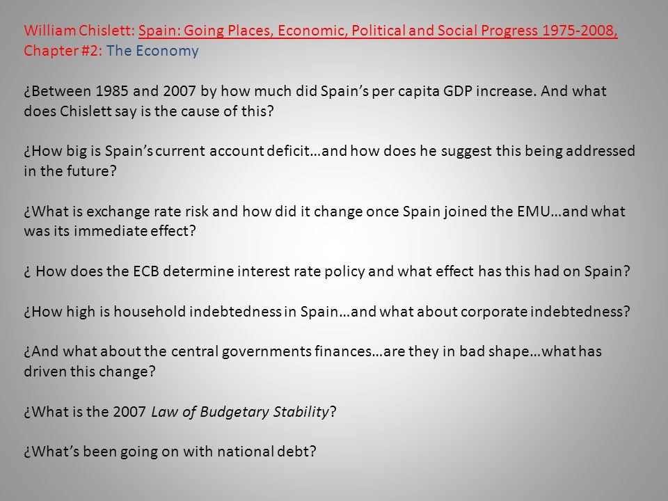 ¿What is the 2007 Law of Budgetary Stability