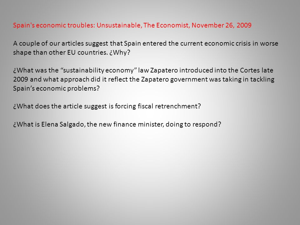 ¿What does the article suggest is forcing fiscal retrenchment