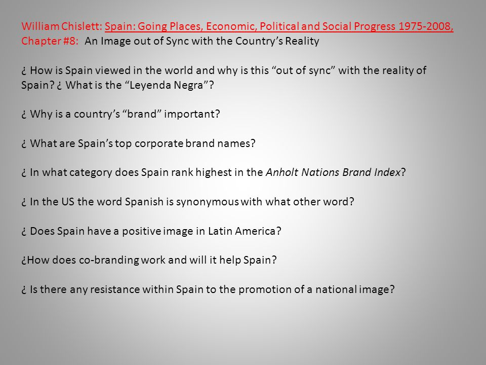 ¿ Why is a country's brand important