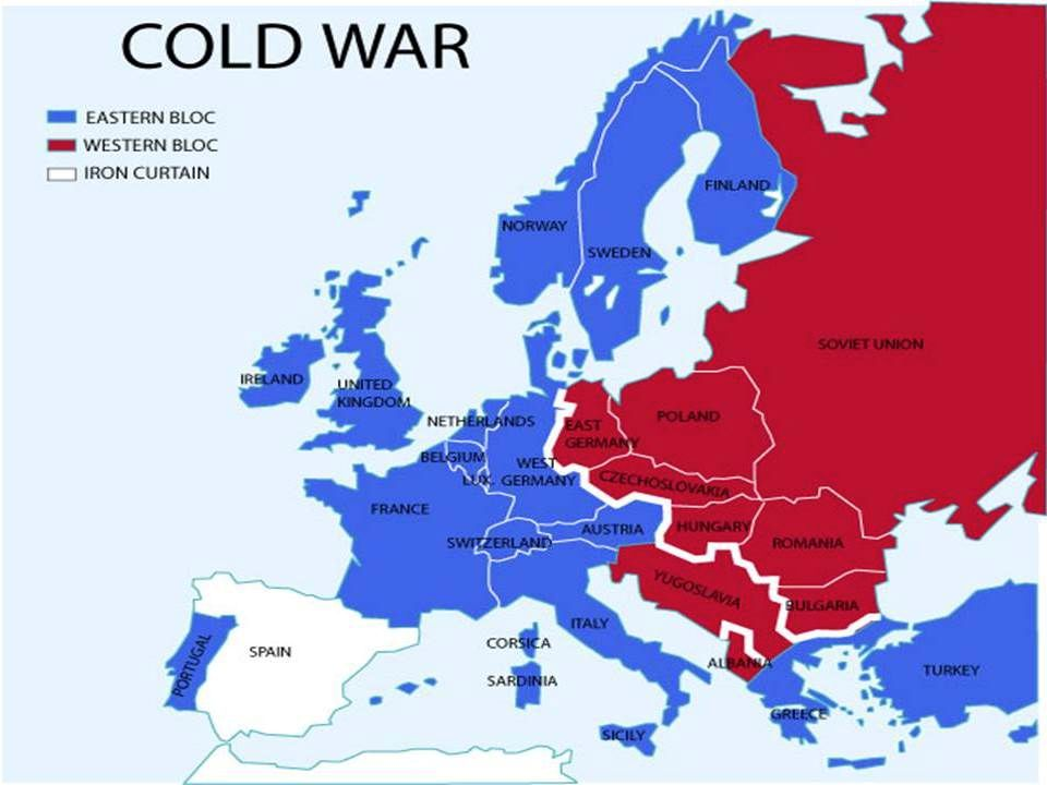 The Cold War Begins 1945-1991 (ish)