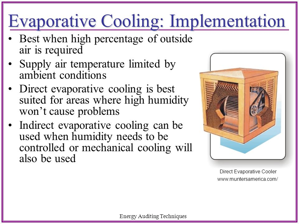 Evaporative Cooling: Implementation