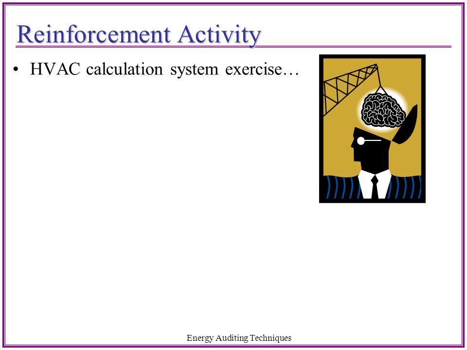 Reinforcement Activity