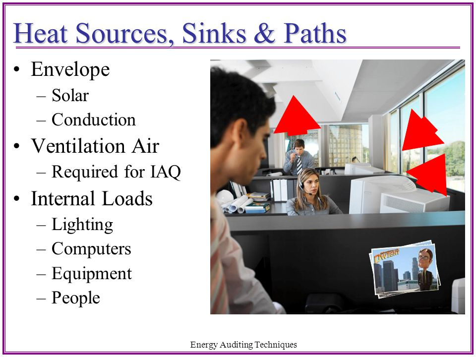 Heat Sources, Sinks & Paths