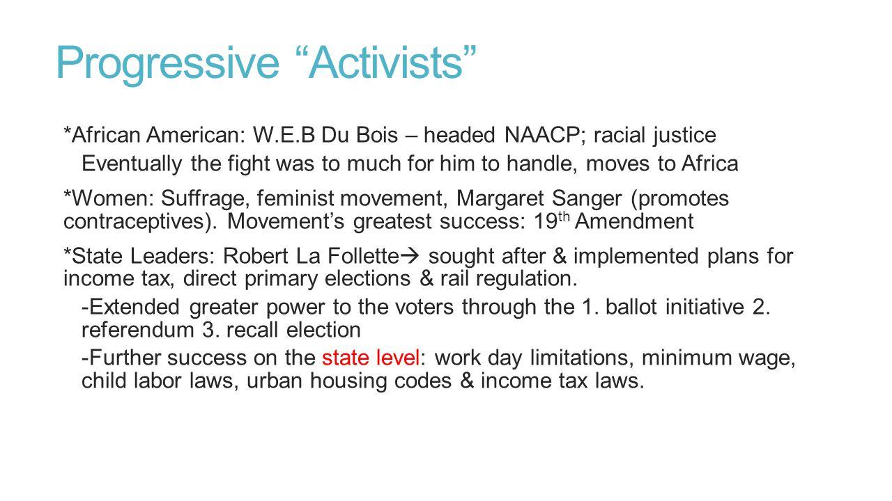 Progressive Activists