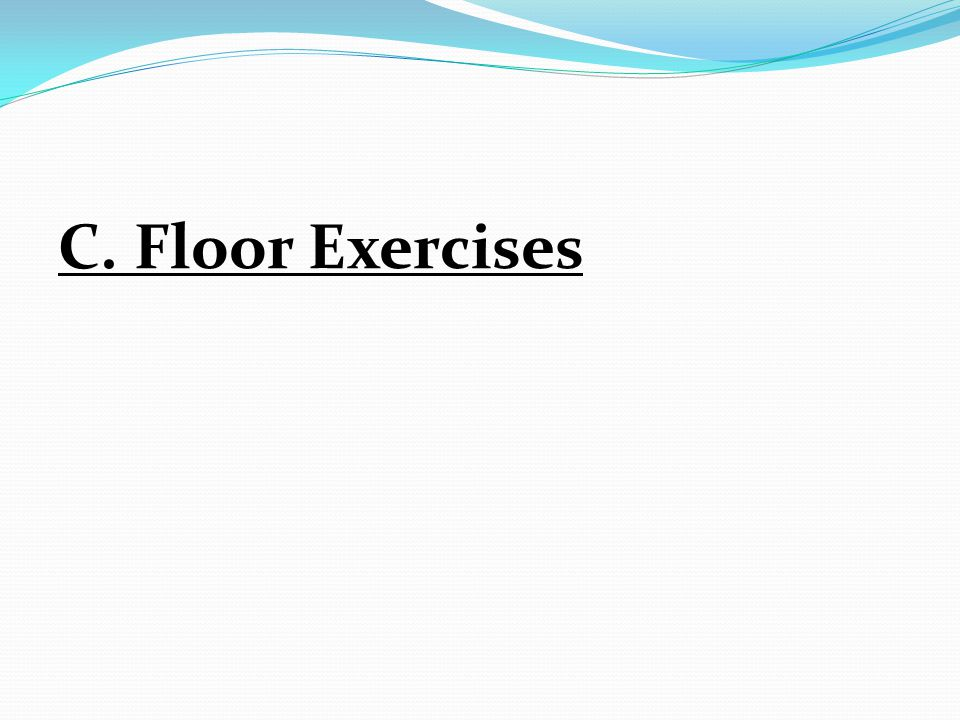 C. Floor Exercises