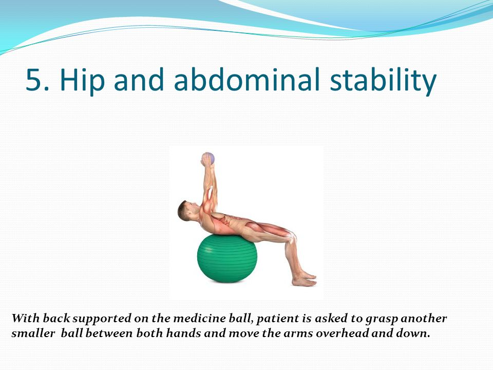 5. Hip and abdominal stability