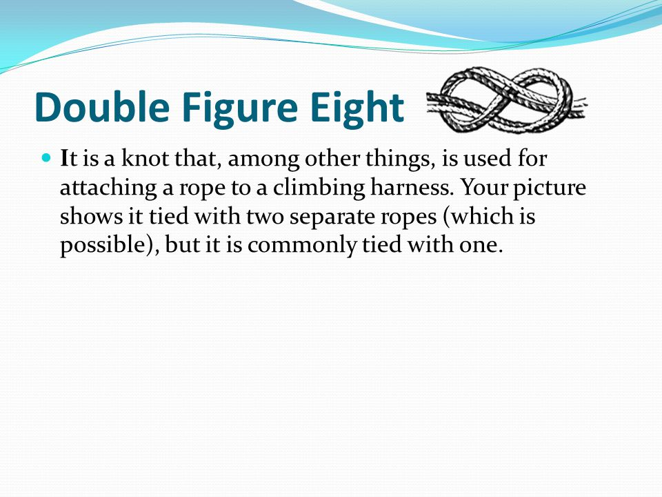 Double Figure Eight