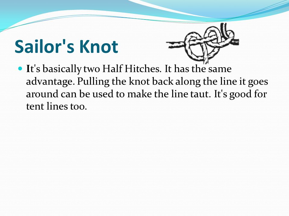 Sailor s Knot