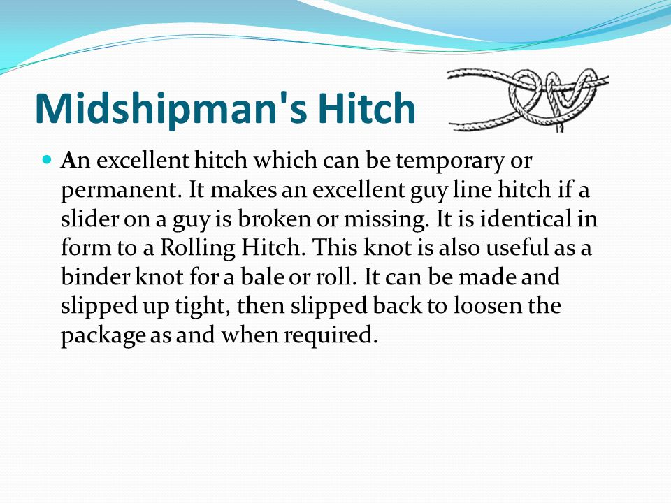 Midshipman s Hitch