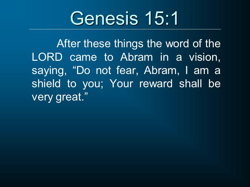 Genesis 15:1