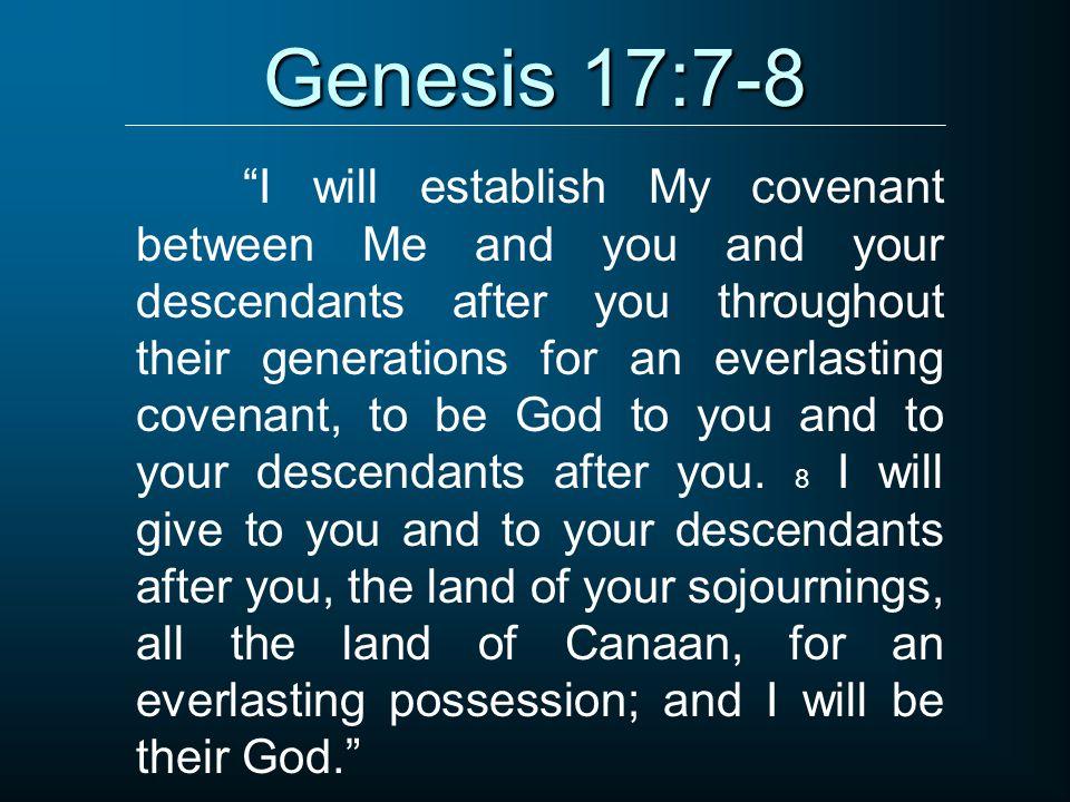 Genesis 17:7-8