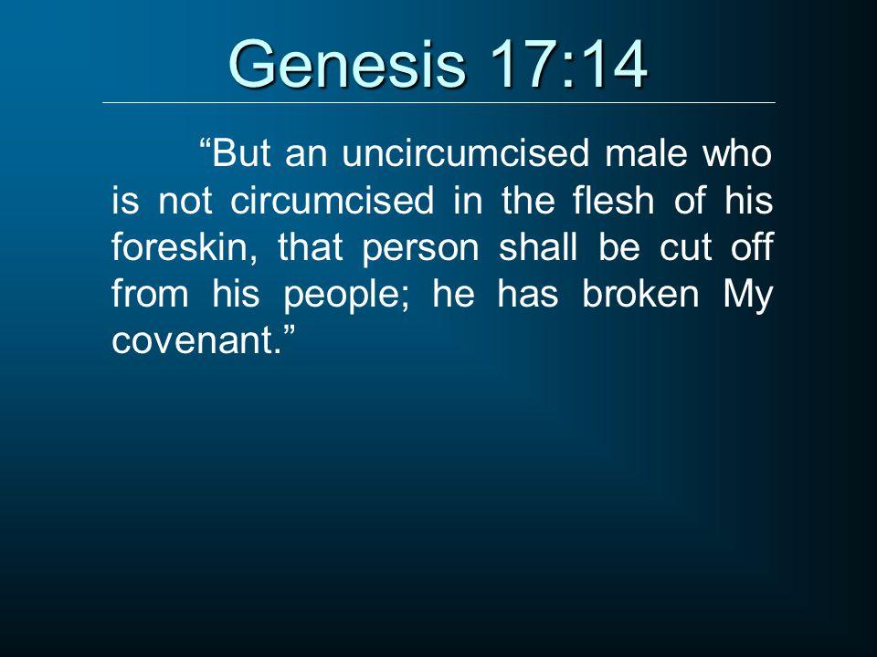 Genesis 17:14