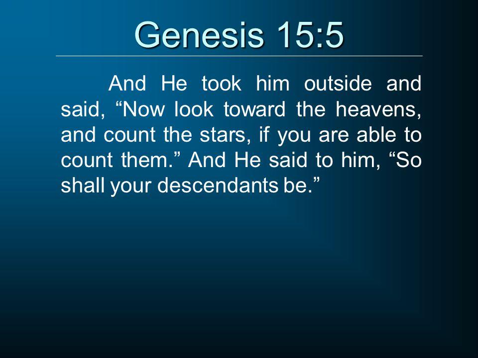 Genesis 15:5