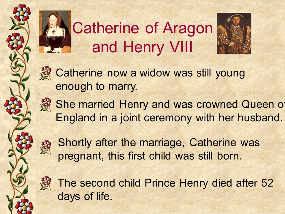 Catherine of Aragon and Henry VIII