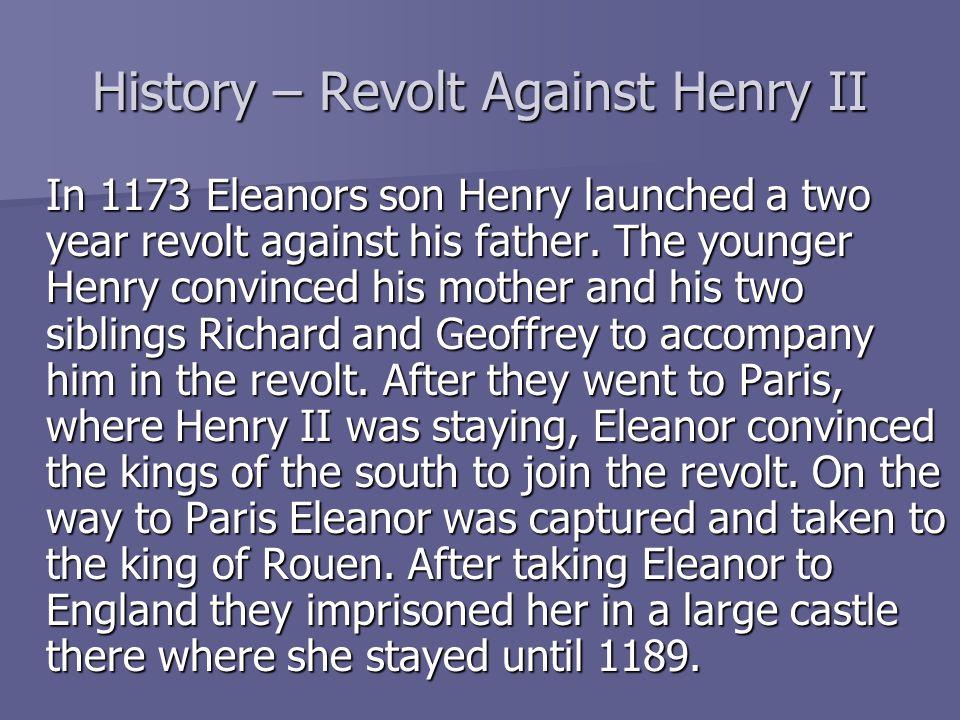 History – Revolt Against Henry II