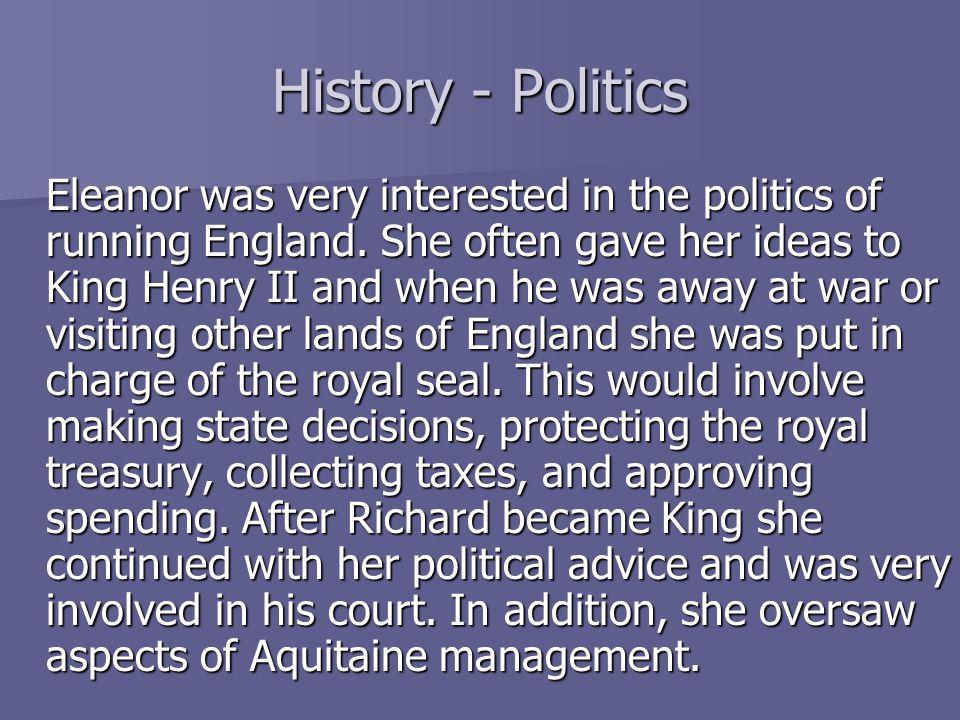 History - Politics