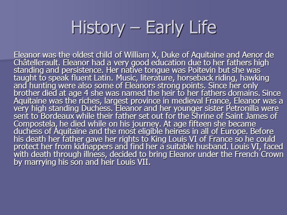 History – Early Life