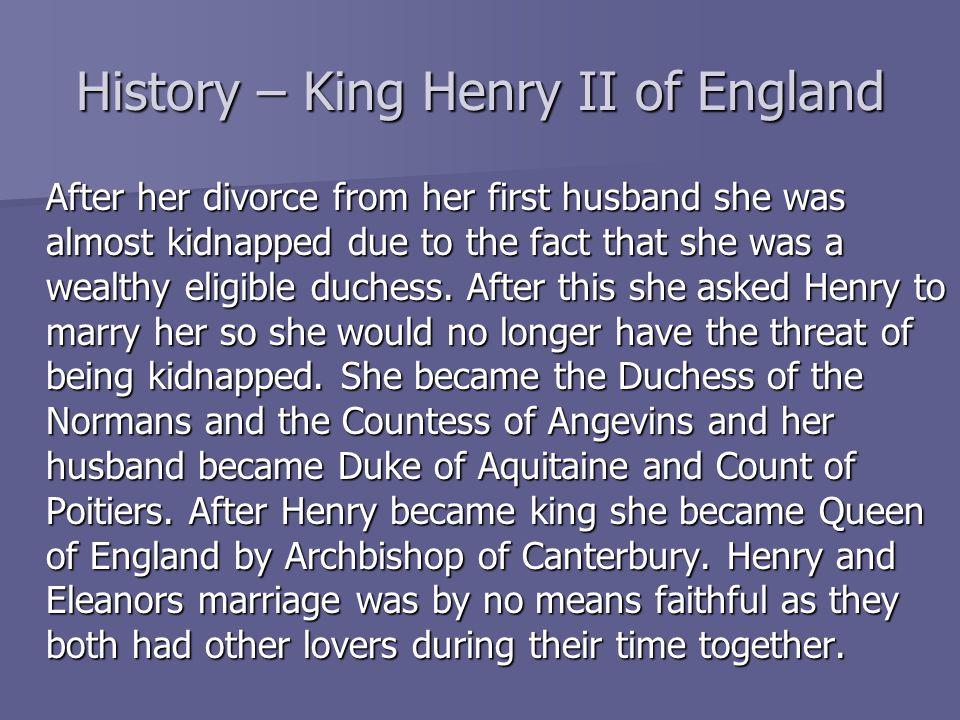 History – King Henry II of England