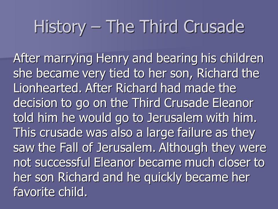 History – The Third Crusade