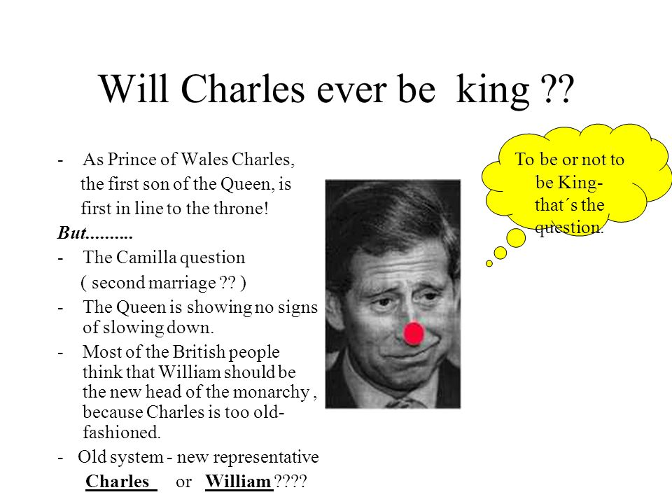 Will Charles ever be king