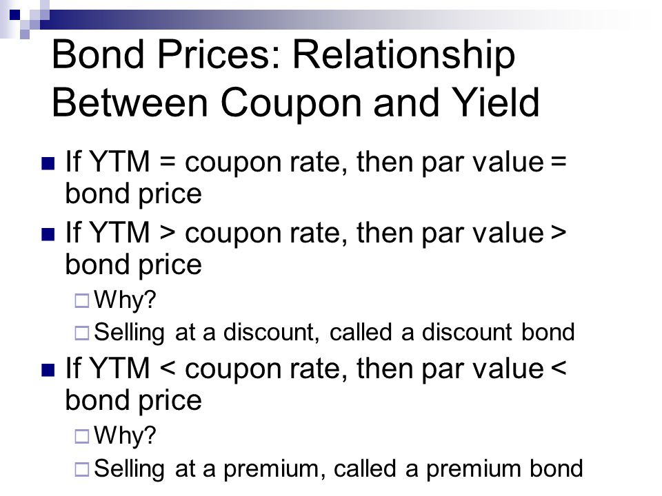 relationship between bond price volatility and the coupon rate