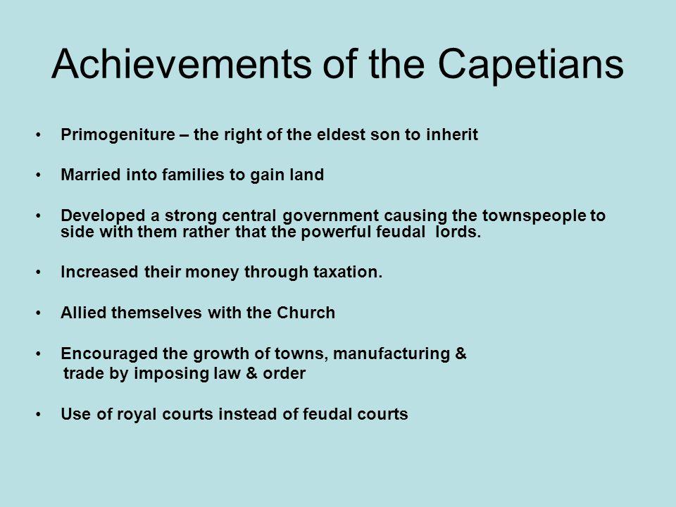 Achievements of the Capetians