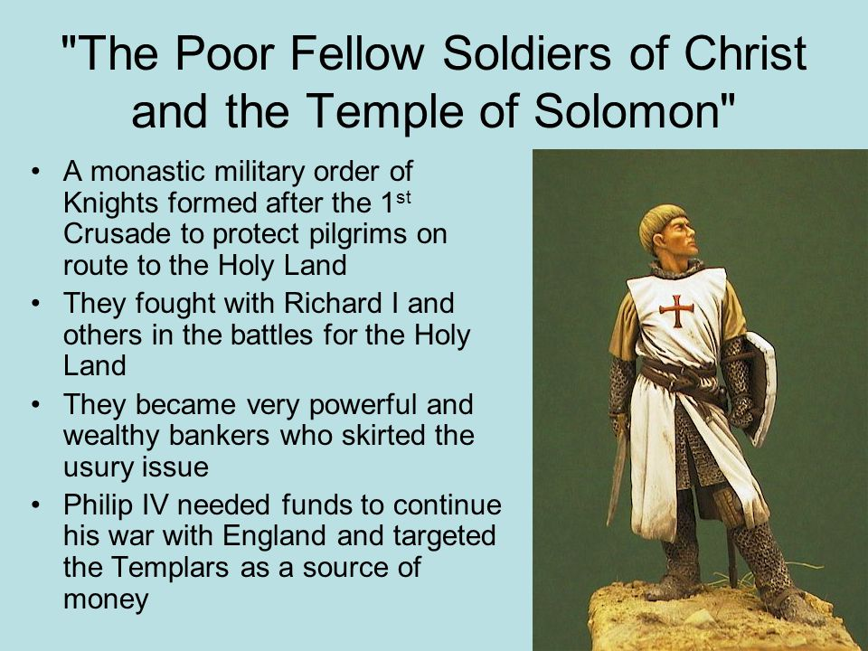 The Poor Fellow Soldiers of Christ and the Temple of Solomon