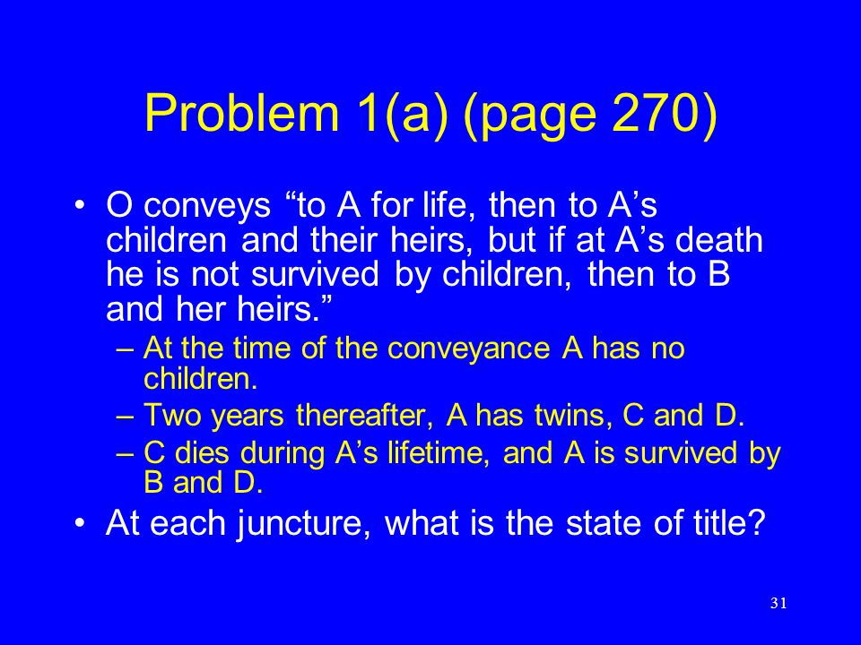 Problem 1(a) (page 270)