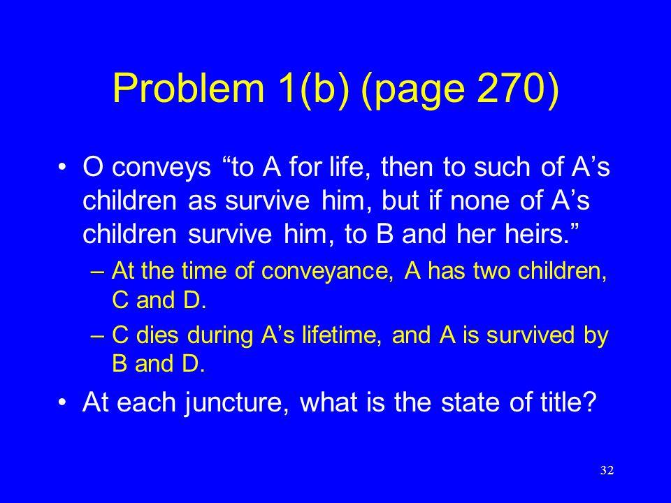 Problem 1(b) (page 270)