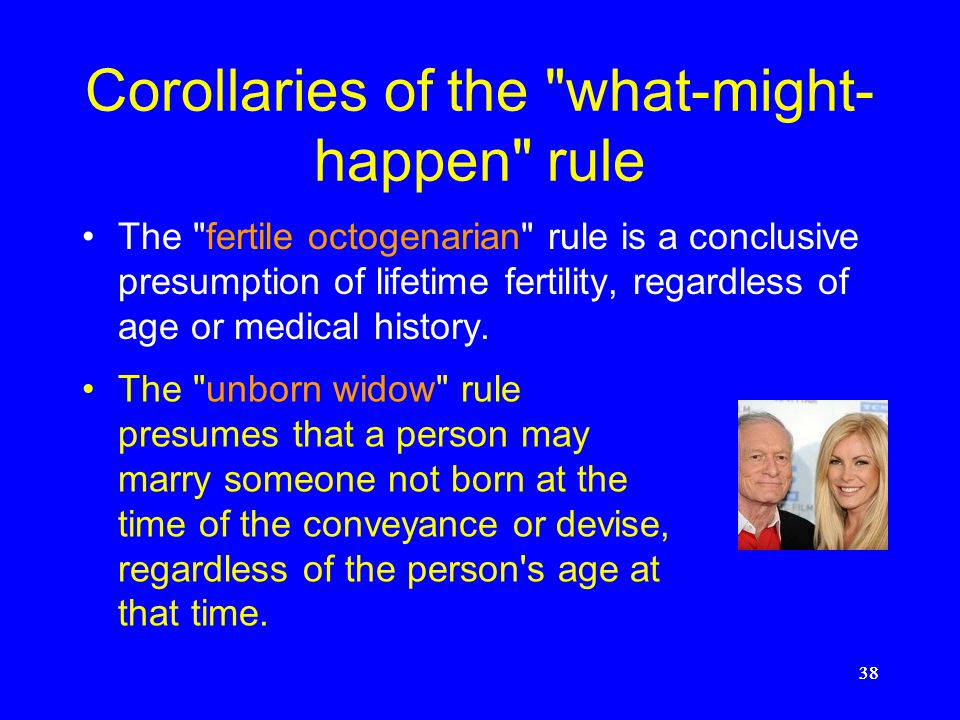 Corollaries of the what-might-happen rule