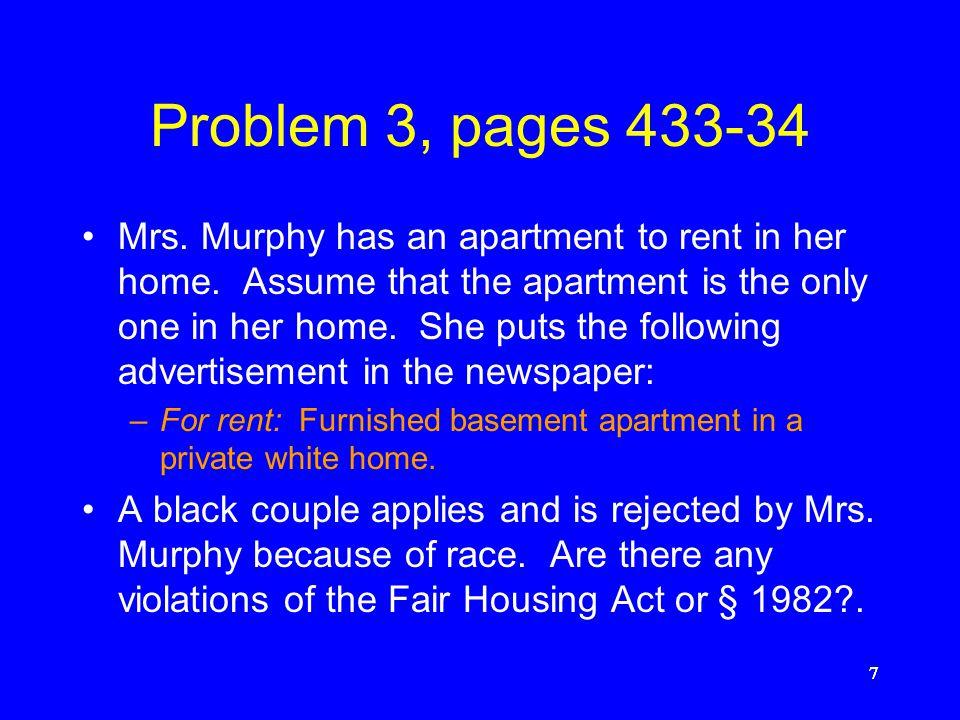 Problem 3, pages 433-34