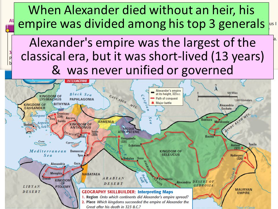 alexander the great summary 16 In the footsteps of alexander the great from docuwiki jump to: navigation, search contents 1 general information 2 cover  the crew travelled through 16.