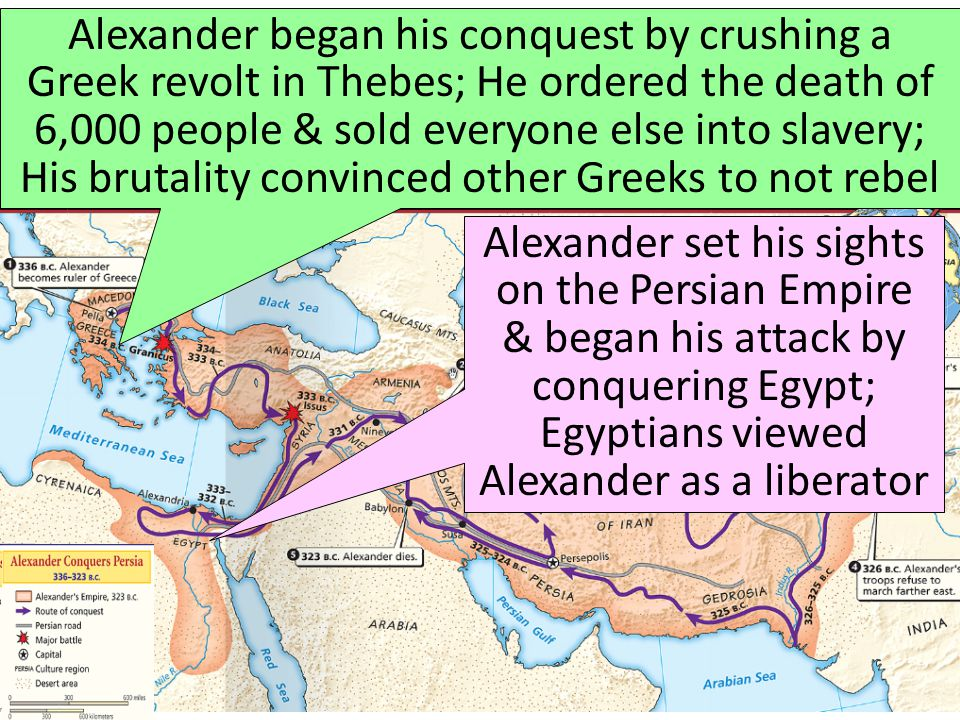 The Empire of Alexander the Great