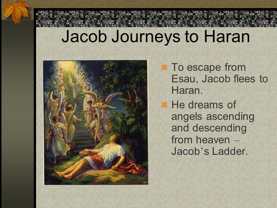 Jacob Journeys to Haran